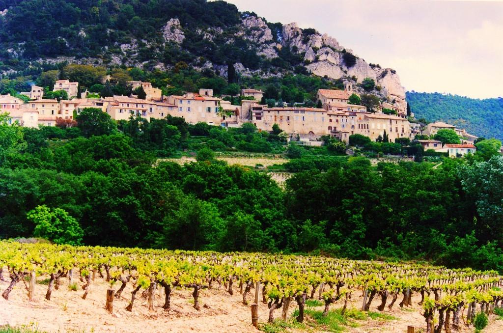 Village de Seguret, Côte-du-Rhône
