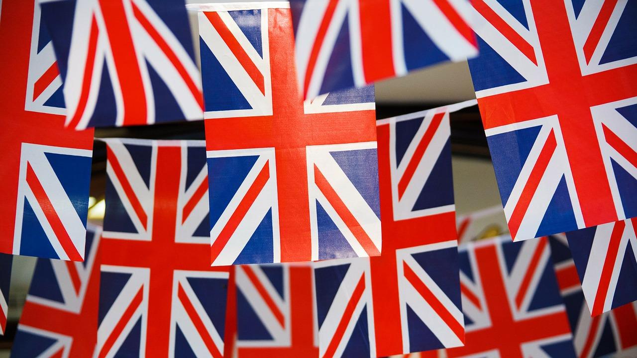 Drapeaux britanniques. Apprendez l'anglais facilement avec I Love Lingua