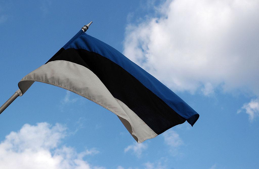 Drapeau de l'Estonie