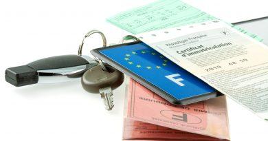 papiers du véhicule, clés voiture