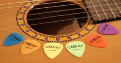 Médiator du guitare