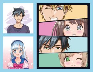 dessins mangas